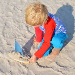 selbst genähtes Shirt, Henne Strand, Dänemark