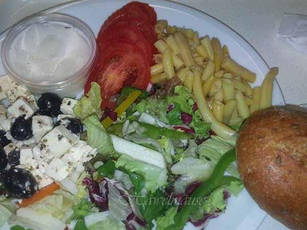 Abendessen im Krankenhaus
