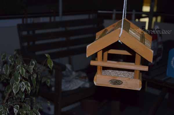 Vogelhaus Vogelfütterung Nabu