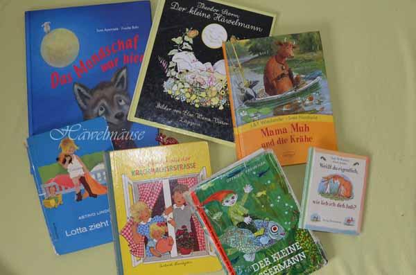 Lieblingsbücher Kinderbücher