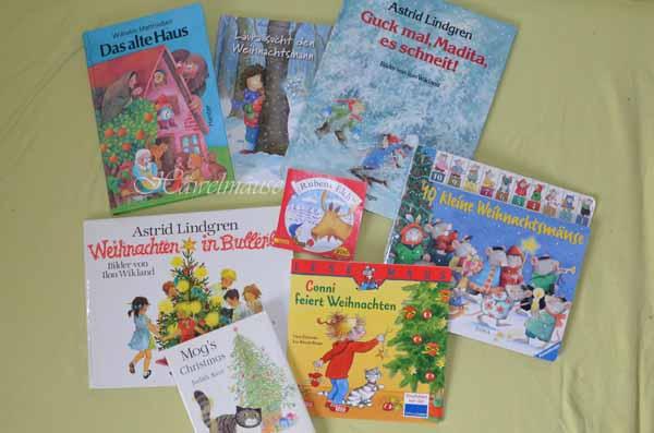 Bücher über Weihnachten Weihnachtszeit Winter
