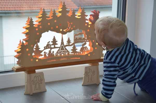 Weihnachtsdeko Baby