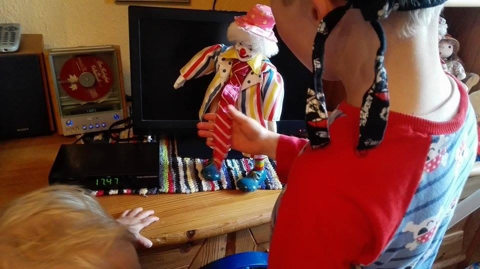 Clown Spieluhr