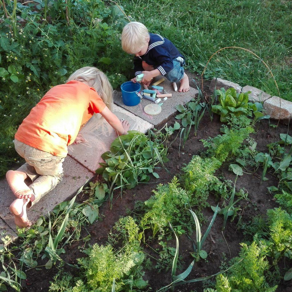 Clantreffen Gartenarbeit