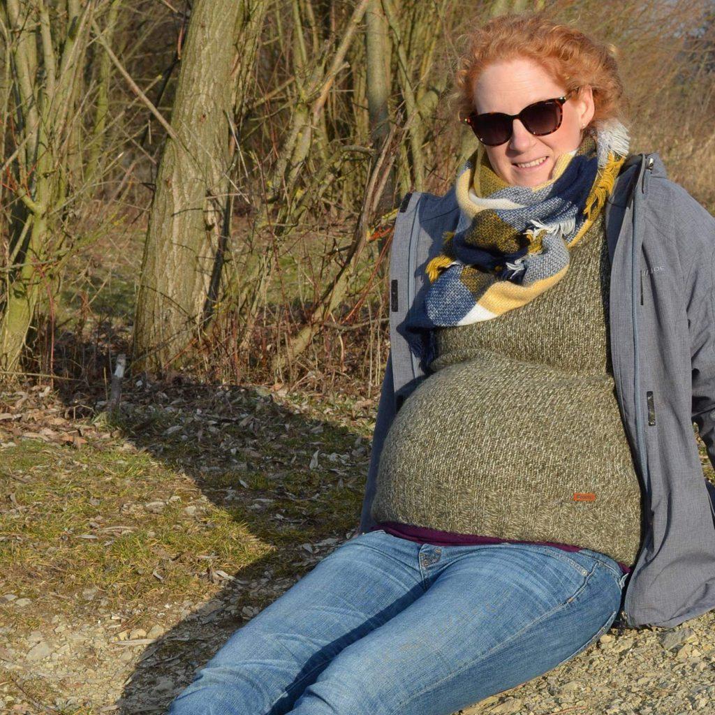 Schwanger Babybauch Umstandskleidung